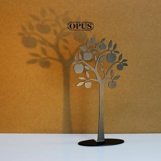 【OPUS東齊金工】歐式鐵藝飾品架/金屬首飾座/戒指項鍊架(蘋果樹)
