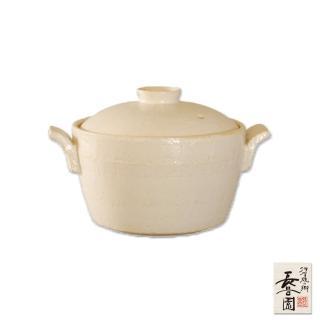 【日本長谷園伊賀燒】電鍋造型小砂鍋(白)