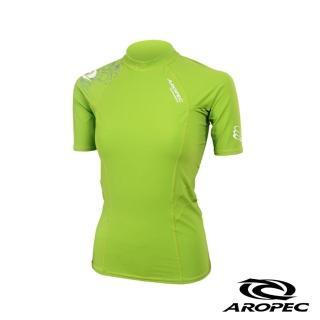 【AROPEC】Compression II 女款運動機能衣(短袖 萊姆綠)