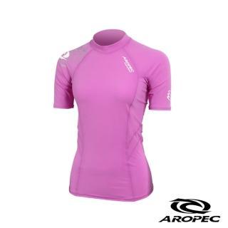 【AROPEC】Compression II 女款運動機能衣(短袖 紫)