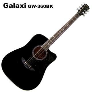 【Galaxi】GW-360木吉他(41吋鏡面黑)