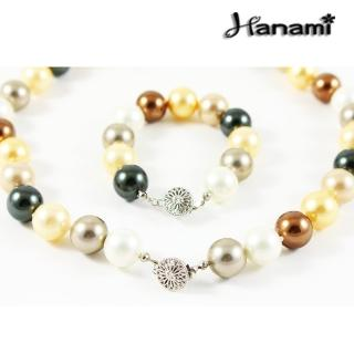 【Hanami】14mm極品典藏南洋貝寶珠套組