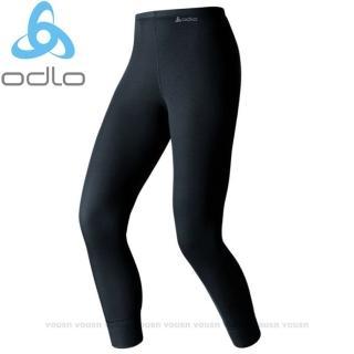 【瑞士 ODLO】warm effect 女機能型銀離子保暖長褲(黑.152041)