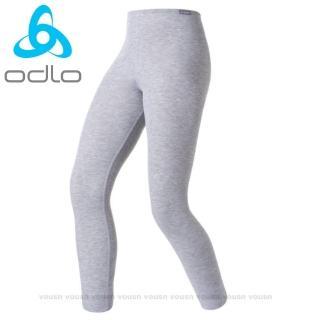 【瑞士 ODLO】warm effect 女機能型銀離子保暖長褲(深麻灰.152041)