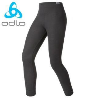 【瑞士 ODLO】effect 兒童.女頂極機能型銀離子保暖長褲(黑.10419)