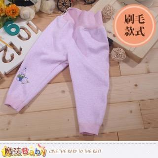 【魔法Baby】厚刷毛高腰護肚保暖長褲(k44089)