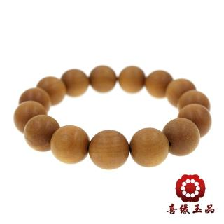 【喜緣玉品】㊣印度老山檀念珠(14mm)