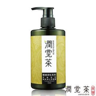 【茶寶 潤覺茶】茶樹綠茶輕感淨化洗髮露(350ml)