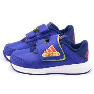 【Adidas】小童 透氣運動鞋(B24551-紫)