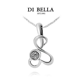 【DI BELLA】初戀滋味天然鑽石墜鍊