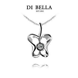 【DI BELLA】Apple Heart天然鑽石墜鍊