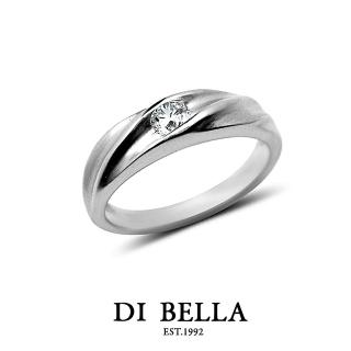 【DI BELLA】FEARLESS 真鑽情人戒指(女款)
