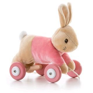【奇哥】比得兔玩偶小車-粉紅