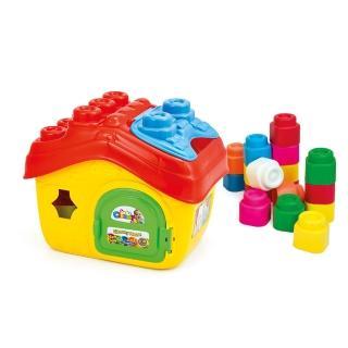【Clemmy軟質積木】15PCS 房子軟質積木桶