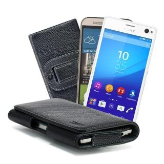 【X_mart】HTC ONE M9 Plus/M9+ 麗緻真皮腰掛皮套