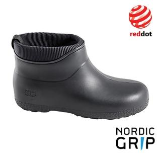 【Nordic Grip】北歐防滑保暖雨靴 雨鞋 雪鞋 『騎士黑』 NG10D(德國紅典設計)
