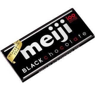 【明治】明治代可可脂黑巧克力-片裝 50g(黑巧克力)