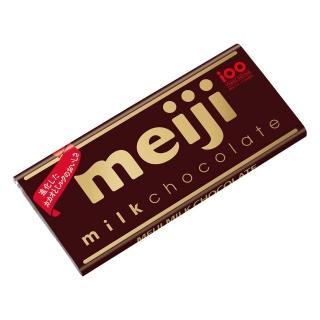 【明治】牛奶巧克力-片裝50g(牛奶巧克力)