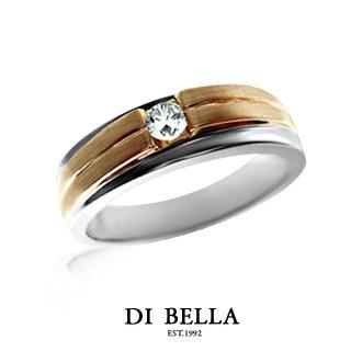 【DI BELLA】ETERNAL 真鑽情人戒指(男款)