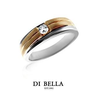 【DI BELLA】ETERNAL 真鑽情人戒指(女款)