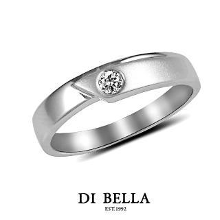 【DI BELLA】幸福頻率真鑽情人戒指(女款)