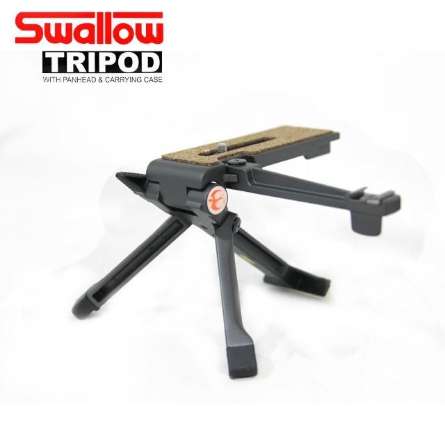 【Swallow】TP-M1 鋁合金桌上型腳架-附閃燈支撐架(公司貨)