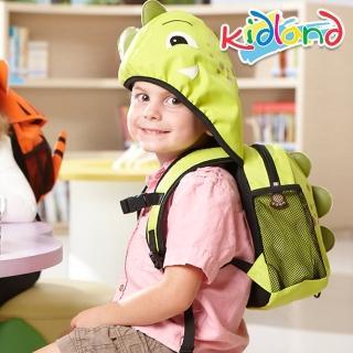 【kidland】動物造型防走失連帽後背包(恐龍)