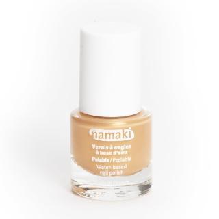 【法國namaki】幼兒專用可撕式水性指甲油-閃耀金