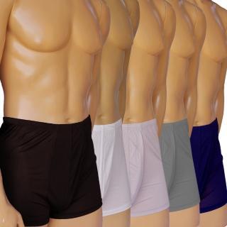 賽凡絲100%蠶絲男四角內褲3件組
