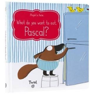 【Song Baby】What Do You Want To Eat?Pascal!(精裝翻翻書)