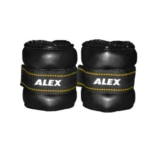 【ALEX】PU型多功能加重器-2KG-重量訓練 健身 有氧(依賣場)