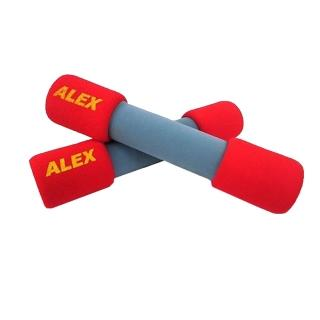 【ALEX】韻律無套啞鈴-3LB-健身 有氧(紅)