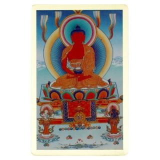 【十相自在】銅箔隨身護身卡(阿彌陀佛)