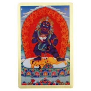 【十相自在】銅箔隨身護身卡(黑財神)