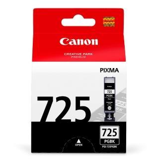 【CANON】PGI-725BK 原廠黑色墨水匣(速達)