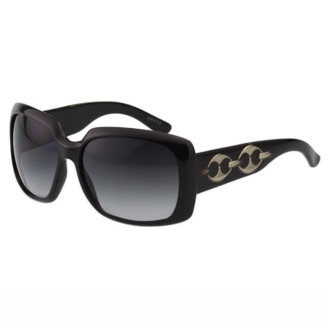 【GUCCI】-時尚太陽眼鏡(黑色)