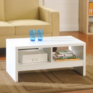 【FUN生活】DIY經典設計優雅小茶几桌/邊桌(白/白橡/胡桃)