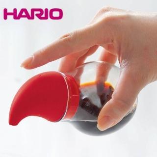【HARIO】NUBA調味罐-莓果紅 180ml CKNCD-180R