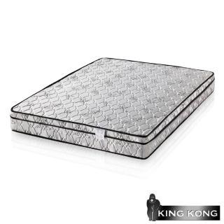 【金鋼床墊】三線高級緹花布加強護背型3.0硬式彈簧床墊-單人特大4尺