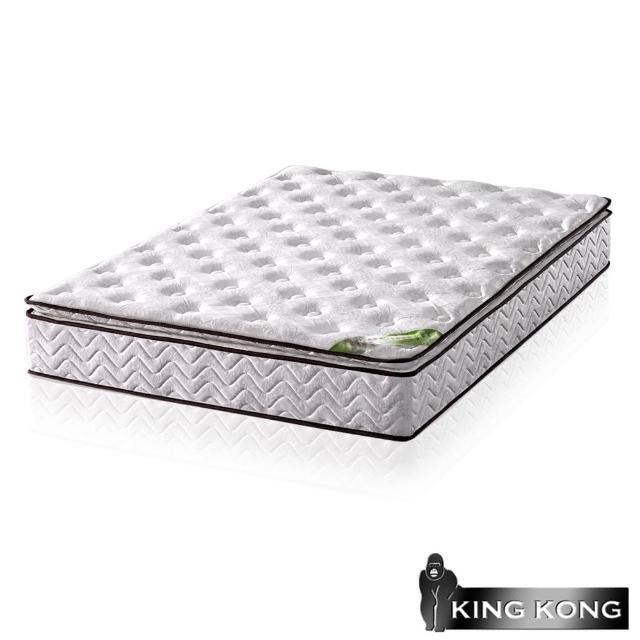 【金剛床墊】正三線乳膠舒柔加強護背型3.0硬式彈簧床墊-雙人5尺