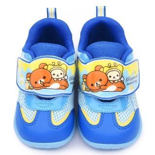 【童鞋城堡】拉拉熊 中童 可愛輕量運動鞋(KM6601-藍)