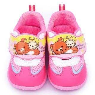 【童鞋城堡】拉拉熊 中童 可愛輕量運動鞋(KM6601-粉)