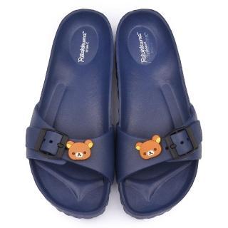 【童鞋城堡】拉拉熊 女款 超輕盈室內外拖(KM26082-藍)