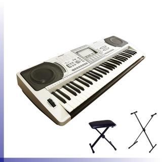 【BOSTON】標準61鍵可攜式電子琴 / 含琴架、琴椅 公司貨(BSN-250)