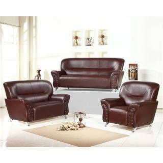【品生活】後工業風格造型 1+2+3人沙發(168)