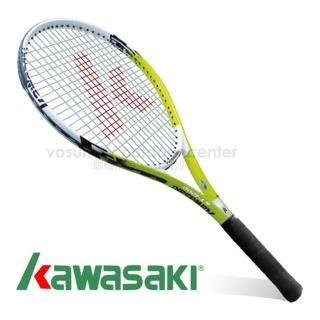 【日本 KAWASAKI】川崎 Power 3D強化鋁合金網球拍_全碳網球拍(綠 KP1200GR)