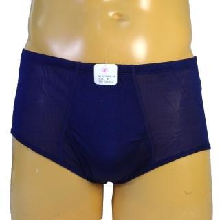 賽凡絲純蠶絲品味型男蠶絲內褲(深藍色)