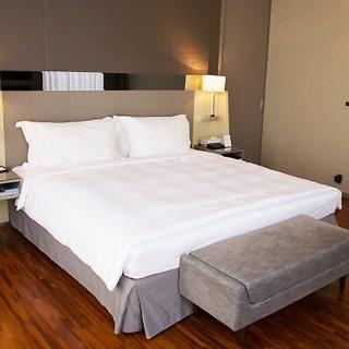 【法式寢飾花季】優雅生活-五星級飯店御用平紋床單(加大6x7尺)