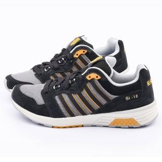 【K-SWISS】男款 TRAINER2 運動鞋(03178-022-黑灰)