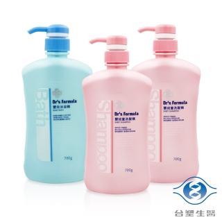 【台塑生醫】嬰兒沐浴洗髮超值3件組 嬰兒沐浴精*1+嬰幼童洗髮精*2